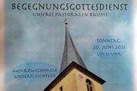 Begegnungsgottesdienst des Pastoralen Raums Bergtheim-Fährbrück