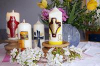 ABSAGE wegen Corona -  Osterkerzenverkauf in Gramschatz