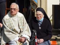 k-Priesterjub. P. Edmund 13.09.20 4 P. Edmund und Schw. Anita